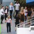 Exclusif - Charlotte McKinney, Keo Motsepe, Rumer Willis, Mark Ballas - Les participants de l'émission DWTS (Danse avec les stars) à Los Angeles le 16 mars 2015