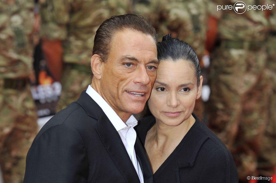 Jean claude van damme 2013 wife