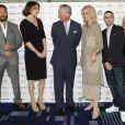 Tom Hardy, Keeley Hawes, le prince Charles, Joanna Lumley, Adam Deacon, Emma Bunton lors des Success Awards du Prince's Trust et L'Oreal Paris à Londres en mars 2012