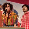 Annie Mac et Adam Deacon aux NME Awards 2012