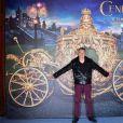 Nagui assiste à l'avant-première du film  Cendrillon  au Grand Rex à Paris le 22 mars 2015.