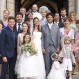 """Lucie Lucas, sublime en robe de mariée, dans l'épisode final de la saison 5 de Clem """"Ça y est je marie ma fille"""", le lundi 30 mars 2015 sur TF1"""