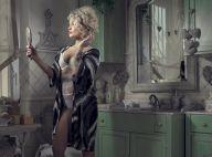 Aurélie Dotremont : La jolie blonde se dévoile en lingerie... glamour et sexy