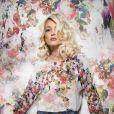 Aurélie Dotremont ravissante et fleurie pour la dernière campagne Blooshop