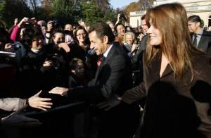 PHOTOS : Nicolas et Carlita Sarkozy s'offrent à leurs fans !