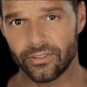 Ricky Martin : Touchant et superbe dans le clip de ''Disparo al corazón''