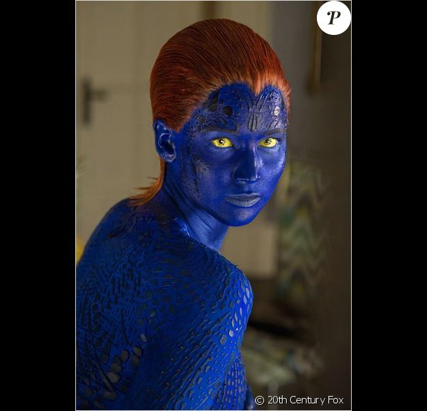 Jennifer Lawrence en Mystique dans X-Men : Le Commencement.
