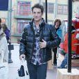 Miles Teller dans les rues de Park City a l'occasion du festival du film de Sundance. Le 17 janvier 2014