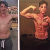 Miles Teller parfaitement musclé : Son incroyable transformation physique !