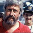 Jean-Michel Cousteau, fils de Jean-Jacques, en 1986