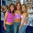 Samia Ghadie, Nikki Sanderson, Tina O'Brien lors des British Soap Awards au BBC Tv Center de Londres le 27 mai 2001