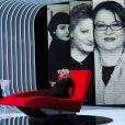 Exclusif - Josiane Balasko, invitée de Marc-Olivier Fogiel - Enregistrement de l'émission  Le Divan.  Le 13 février 2015.