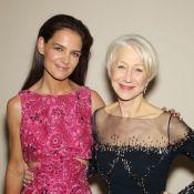 Katie Holmes complice avec la 'Woman in Gold' Helen Mirren devant Brooke Shields