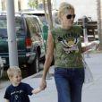 Sharon Stone et son fils Laird