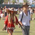 Vanessa Hudgens et son compagnon Austin Butler au 3ème jour du festival de musique Coachella à Indio.