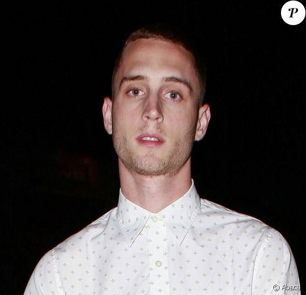 Exclusive - Le fils de Tom Hanks du nom de Chet Haze et la blonde Hazel E photographiés lors d'un rendez-vous au restaurant STK à Los Angeles le 18 septembre 2014