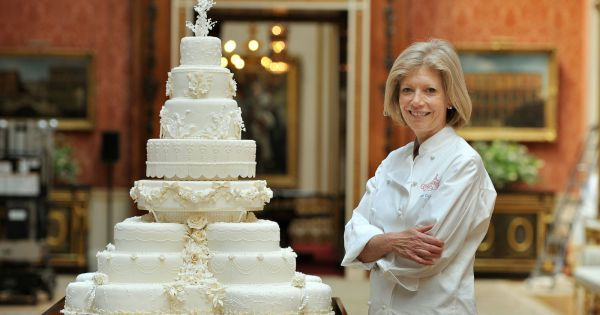 Fiona Cairns a réalisé en 2011 la gâteau de mariage du prince ...
