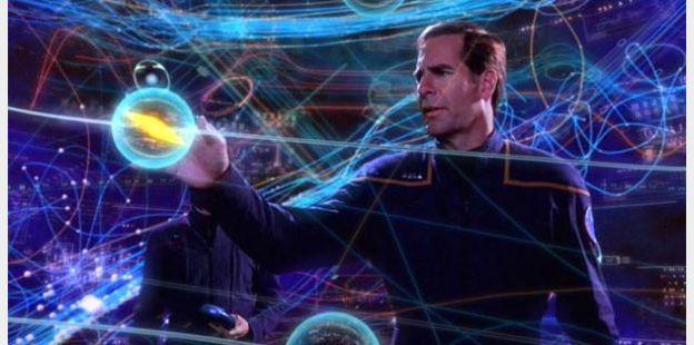 Scott Bakula dans Star Trek Enterprise