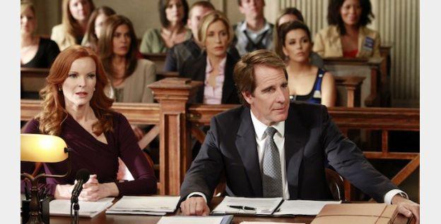 Scott Bakula et Marcia Cross dans Desperate Housewives en 2012.
