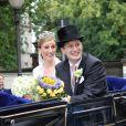 Le prince Georg Friedrich et la princesse Sophie de Prusse lors de leur mariage le 27 août 2011 à Potsdam. Le couple a accueilli le 2 avril 2015 son troisième enfant, la princesse Emma Marie.