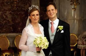Georg Friedrich et Sophie de Prusse parents d'une petite fille