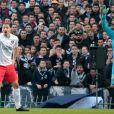 Zlatan Ibrahimovic lors de la rencontre entre le Paris Saint-Germain et Bordeaux au stade Chaban-Delmas, le 15 mars 2015 à Bordeaux