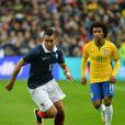 Dimitri Payet lors du match France - Brésil au Stade de France à Saint-Denis le 26 mars 2015