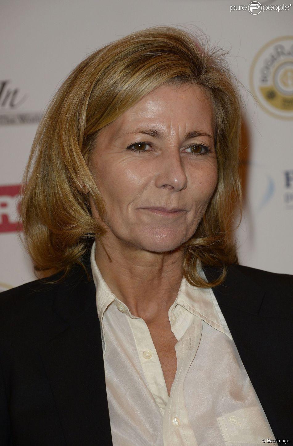 Claire Chazal - Dîner de gala du 93e Grand Prix d'Amérique au Pavillon d'Armenonville. Janvier 2014.