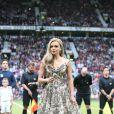 """Katherine Jenkins - Personnalités au match de football au profit de l'association """"Aids"""" à Manchester. Le 8 juin 2014"""