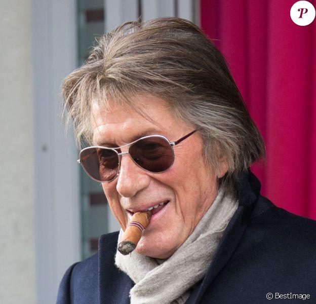 Jacques Dutronc à Paris le 5 novembre 2014