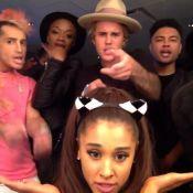 Justin Bieber et Kendall Jenner : Complices, ils s'éclatent avec Ariana Grande