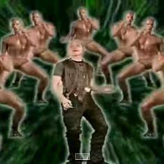 Jason Statham danse dans le clip de The Shamen pour Comin' On.