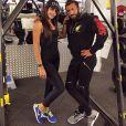 Somayeh et son coach sportif