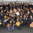 Chico & The Gypsies en concert à l'Olympia à Paris, le 15 avril 2014.