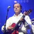 Chico Bouchikhi. Chico & The Gypsies en concert à l'Olympia à Paris, le 15 avril 2014.