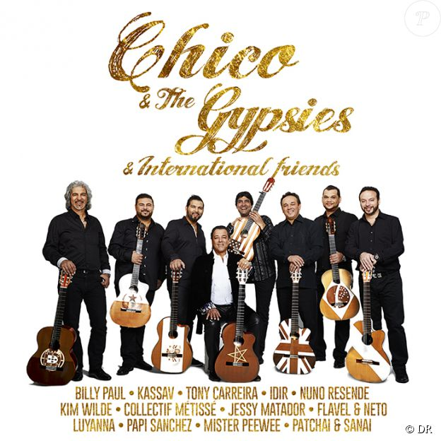 Chico and the Gypsies & International Friends, pochette de l'album. Déjà disponible.