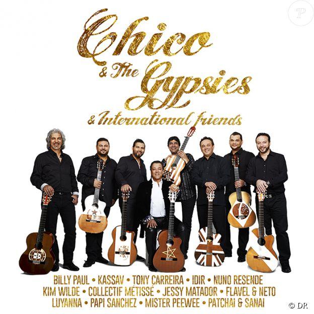 Chico and the Gypsies & International Friends, pochette de l'album. Déjà disponible.