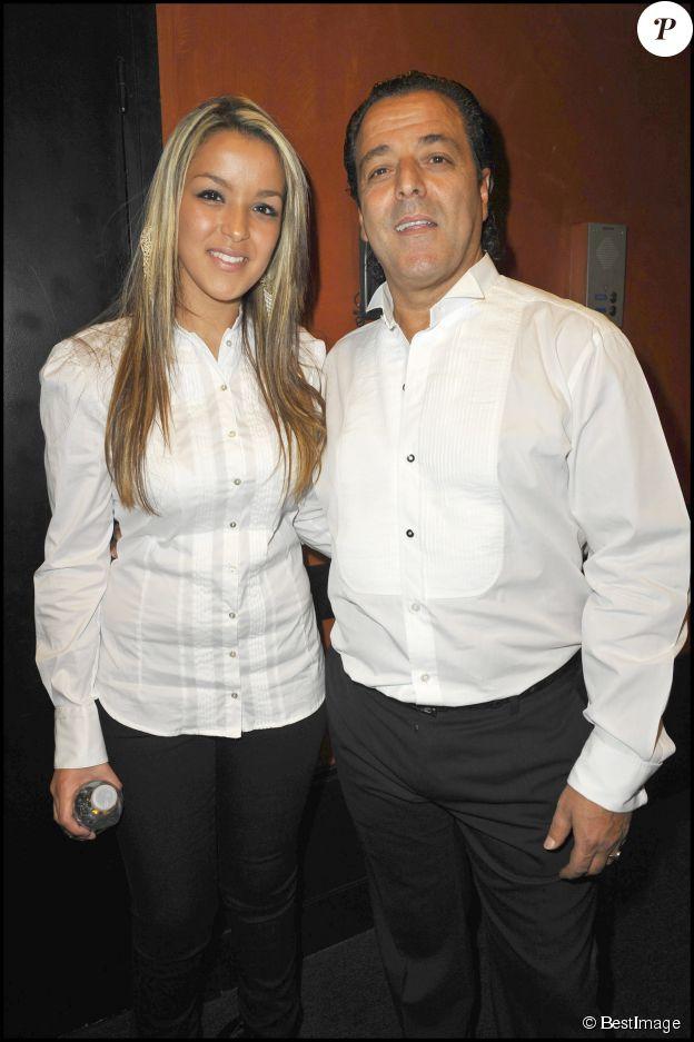 Chico et sa fille Sonia lors du concert de Chico & the Gypsies à l'Olympia en avril 2010