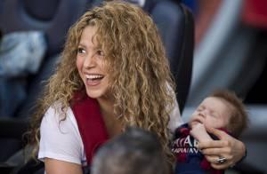 Shakira : Sasha, 3 mois, débarque au Camp Nou avec Milan, Gerard Piqué comblé !