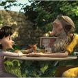 La Petite Fille et l'Aviateur dans Le Petit Prince.
