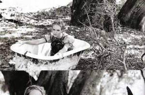 PHOTOS : Kate Bosworth, sublime, prend son bain... tout habillée !