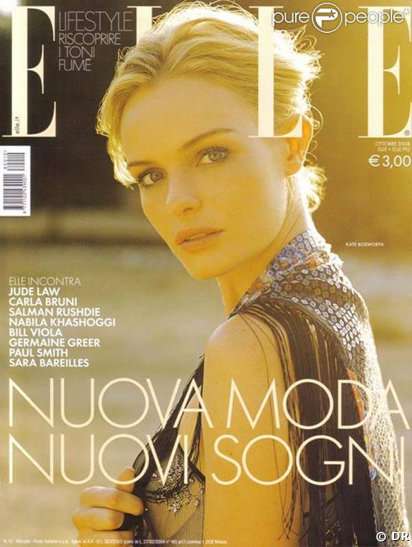 Kate Bosworth pour Elle