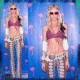 Elle Evans pour Coachella, sur Instagram le 16 avril 2015