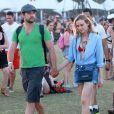 """Diane Kruger et Joshua Jackson au 5e jour du Festival de """"Coachella Valley Music and Arts"""" à Indio Le 18 avril 2015"""