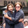 Brody et Bruce Jenner à Los Angeles. Mai 2013.