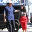 Kim Kardashian et Bruce Jenner à Los Angeles, le 20 octobre 2014.