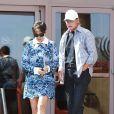 Kris et Bruce Jenner à Beverly Hills. Avril 2014.