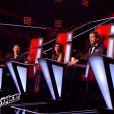 dans la finale de  The Voice 4  sur TF1, le samedi 25 avril 2015.