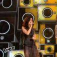 Côme en duo avec Jenifer, dans la finale de  The Voice 4  sur TF1, le samedi 25 avril 2015.