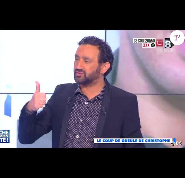 Cyril Hanouna dans Touche pas à mon poste sur D8, le lundi 27 avril 2015.